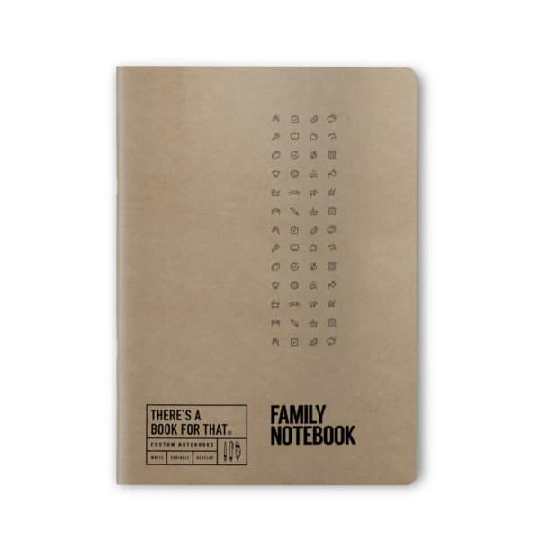 familien-notizbuch-smartes-notizbuch-theres-a-book-for-that-kraftpapier-cover