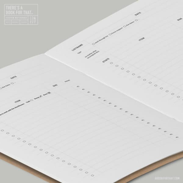 bulletjournal-smartes-notizbuch-theres-a-book-for-that-to-do-liste
