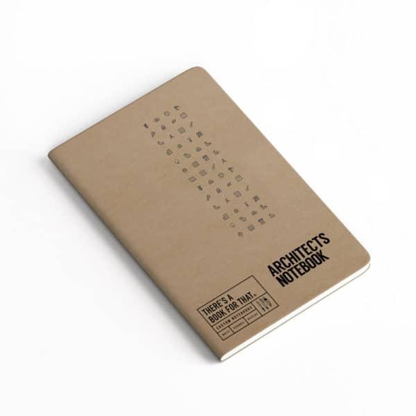architekten-notizbuch-smartes-notizbuch-theres-a-book-for-that-kraftpapier-umschlag