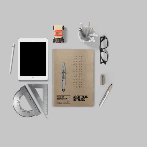 architekten-notizbuch-smartes-notizbuch-theres-a-book-for-that-cover