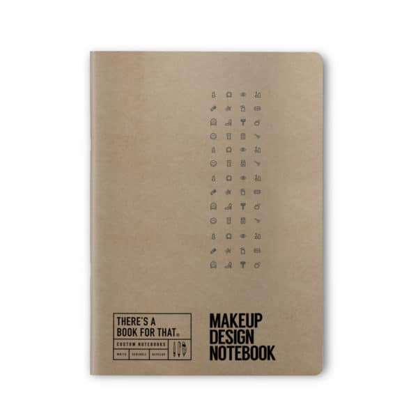 makeup-design-notizbuch-smartes-notizbuch-theres-a-book-for-that-kraftpapier-cover