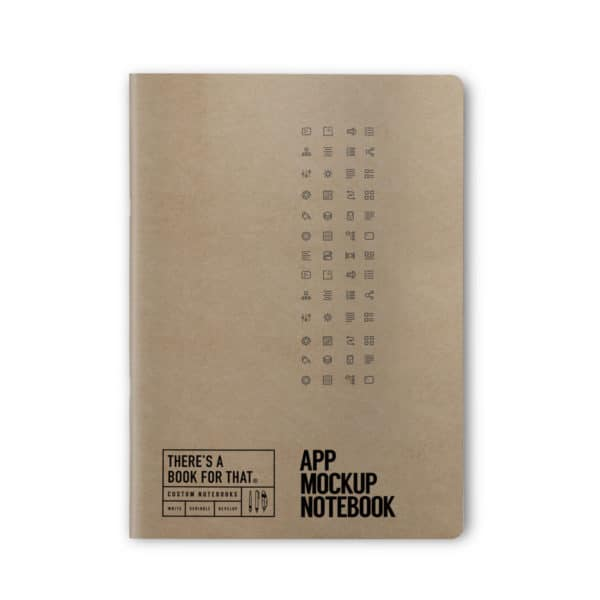 app-mockup-notizbuch-smartes-notizbuch-theres-a-book-for-that-kraftpapier-cover