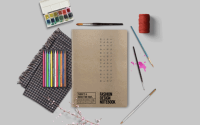 Fashion Design Notizbuch