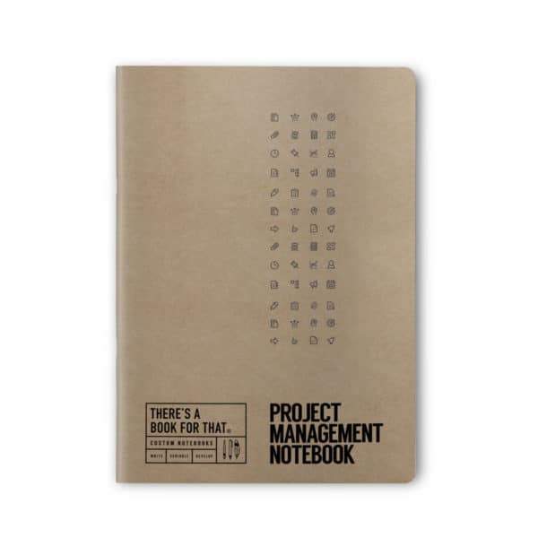 projektmanagement-notizbuch-smartes-notizbuch-theres-a-book-for-that-kraftpapier-cover