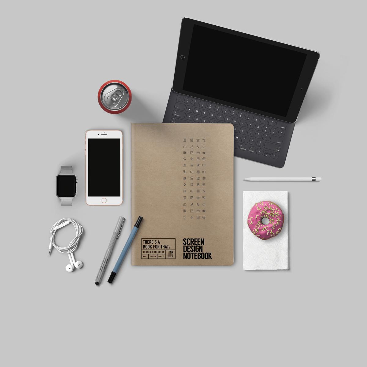 c A Book For That - Screendesign Notizbuch - Smartes Notizbuch