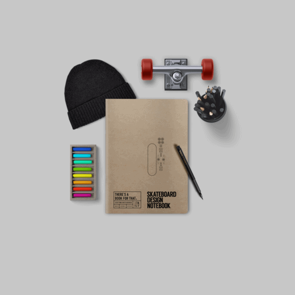 skateboard-design-notizbuch-smartes-notizbuch-theres-a-book-for-that-cover