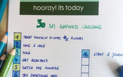 30 Tage Glücks Challenge 🤗